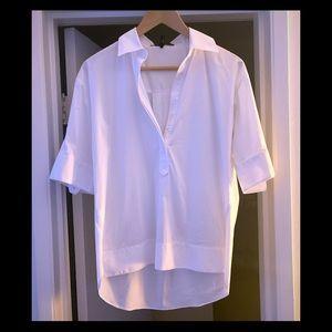 BCBG white shirt medium